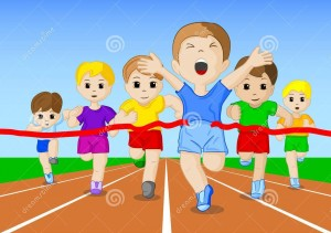 http://www.dreamstime.com/stock-image-vector-illustration-foot-race-finish-line-image29929111
